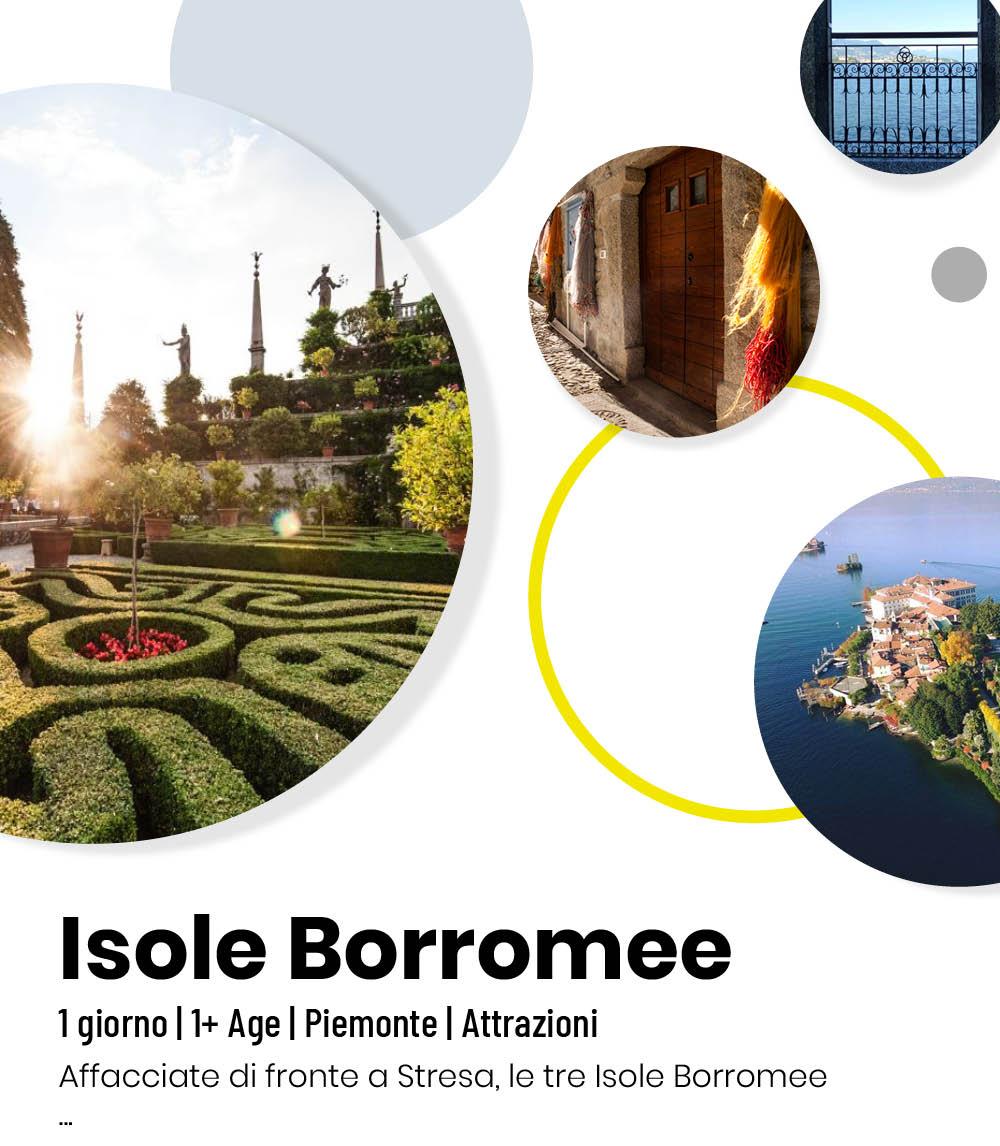 Slide isole borromee little