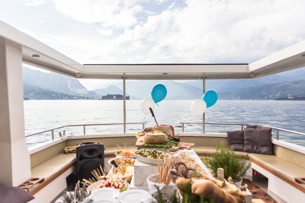eventi in barca lago maggiore